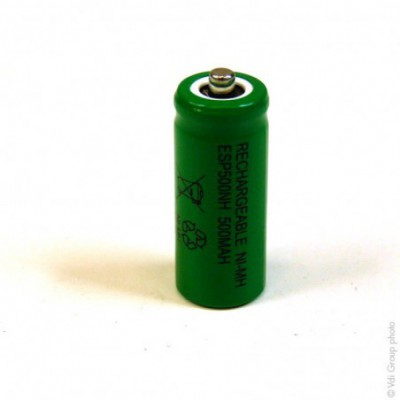 Accus Nimh industriels 2-3AAA ESP500NH FT 1.2V 500mAh