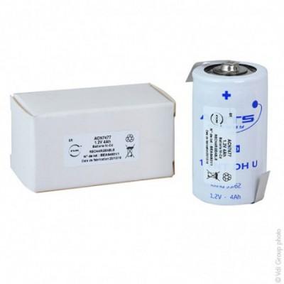 Accus Nicd VNT D 1.2 volts  4Ah HBL