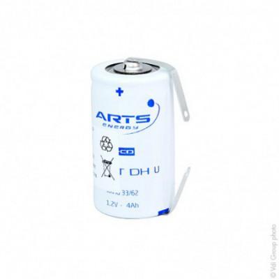 Accus Nicd VNT DHU 1.2 volts 4Ah T2