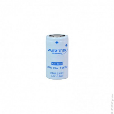 Accus Nicd  VRE SC 1.2V 1800mAh FT