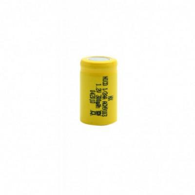 Accus Nicd 1/2 AA 1.2 volts 300mAh FT