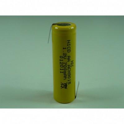Accus Nicd  AA HT 1.2 volts 800 mAh HBL