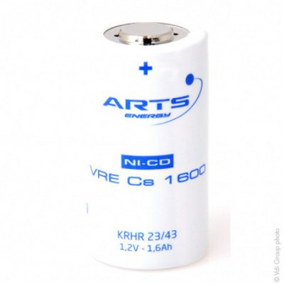 Accus Nicd  VRE  SC 1.2 volts1600 mah FT