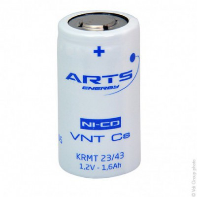 Accus Nicd VNT SC 1.2 volts 1.6 ah FT