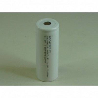 Accus Nicd F HT 1.2 volts 7000 mah FT