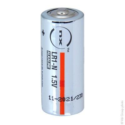 Pile alcaline LR1 - N Nx-Power Tech Boite de 10 1.5V 907mAh