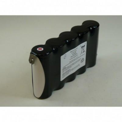 Batterie Nicd 5x F HT 5S1P ST1 6 volts  7 ah HBL