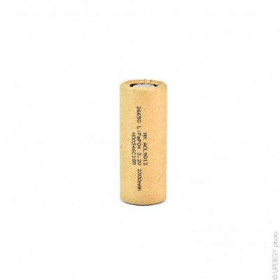 Accus Lithium Fer Phosphate IFR-26650 LiFePO4 HD 3.2 volts 2300 mah