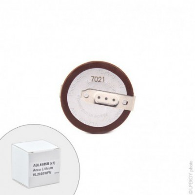 Accus bouton Lithium VL2020-HFN