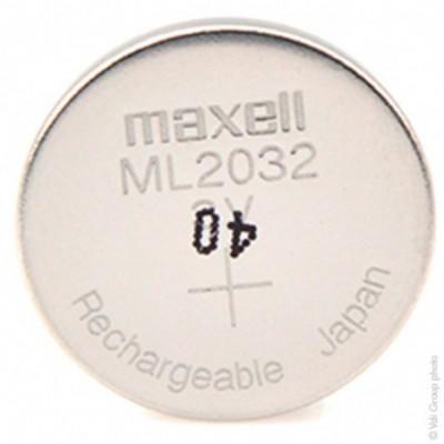 Accus bouton Lithium ML2032
