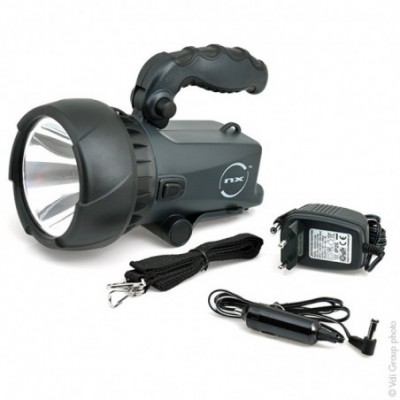 Projecteur NX LED CREE 1W rechargeable