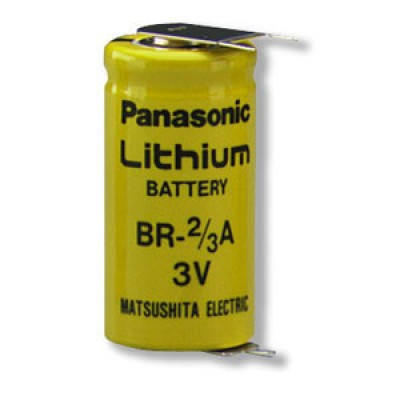 Pile lithium industrie BR-2/3AE2SPN 3V 1.2Ah CI