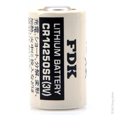 Pile lithium industrie CR14250SE 1/2AA 3V 850mAh
