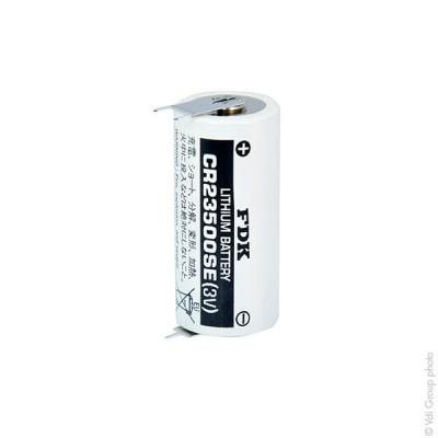 Pile lithium industrie CR23500-SE 3V 5Ah FT1