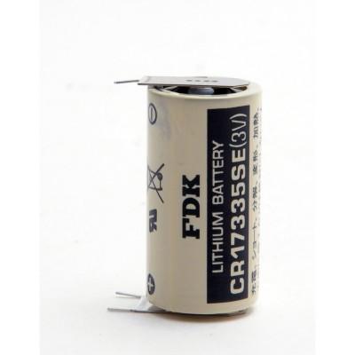 Pile lithium industrie CR17335 3V 1.8Ah 3PH