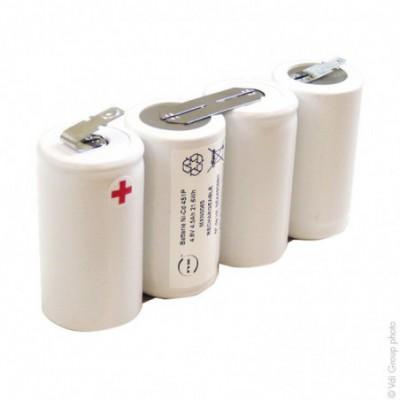 Batterie eclairage secours 4x D HT 4S1P ST1 4.8V 4Ah FAST