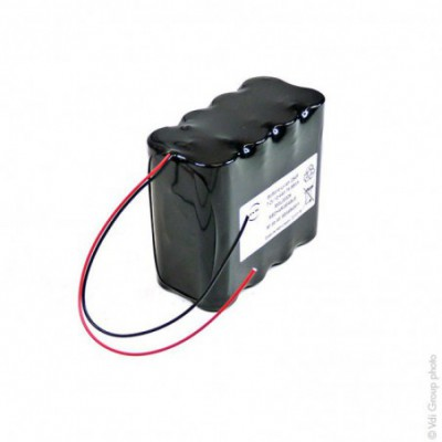 Batterie Li-Ion 8 x 18650 2S4P ST2 7.4V 10.4Ah F