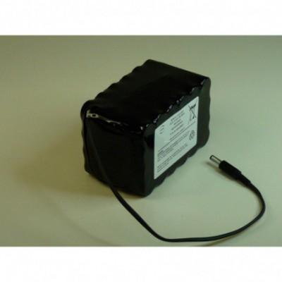 Batterie Li-Ion 24 x 18650 6S4P ST2 F300 22.2V 10.4Ah JACK