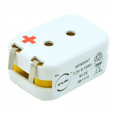 Batterie Nicd ST2-FL- 7.2V 150mAh T2