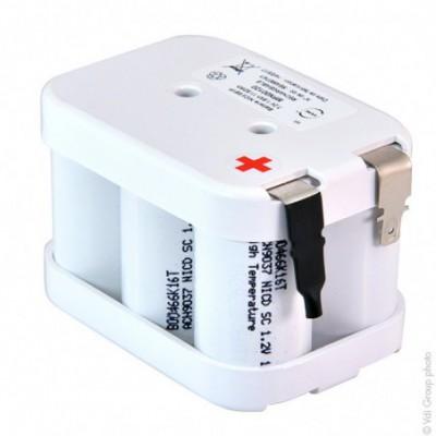 Batterie Nicd 6x SC HT 6S1P ST2 7.2V 1.6Ah FAST