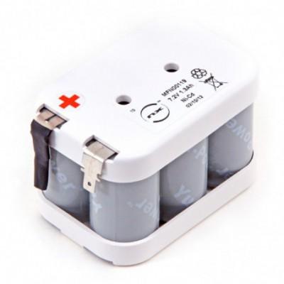 Batterie Nicd 6x SC 6S1P ST2 7.2V 1.3Ah FAST