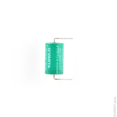 Pile lithium industrie CR 1/2AA AXIAL 90° 3V 950mAh