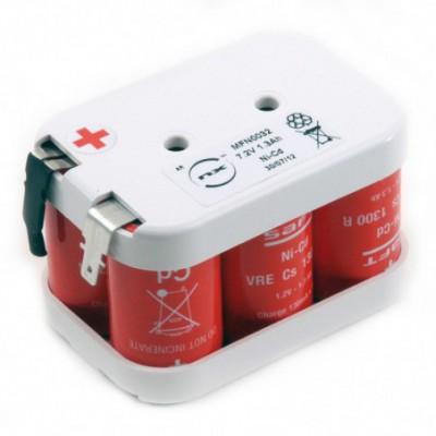 Batterie Nicd 6x SC VRE 6S1P ST2 7.2V 1.6Ah FAST