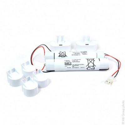 Batterie eclairage secours 3+3 VNT DH U 7.2V 4000mAh