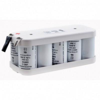 Batterie Nicd 10x C VRE 10S1P ST2 12V 2.3Ah Cosse