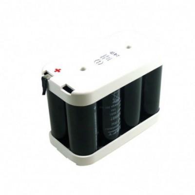 Batterie eclairage secours 8x F VT 4S2P ST2 4.8V 14Ah Cosse
