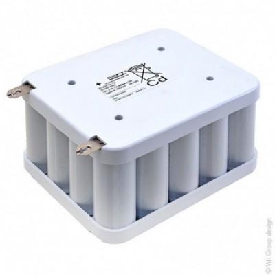 Batterie Nicd 805757D -120218 24V 8Ah