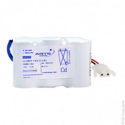 Batterie eclairage secours 3 VNT DH U ST1 3.6V 4000mAh