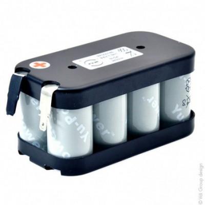 Batterie Nicd 8x SC  8S1P 1300 ST2 9.6V 1.3Ah