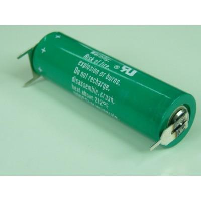 Pile lithium industrie CR AA 3V 2000mAh 3PF