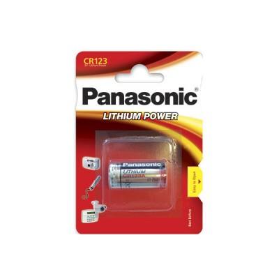 Pile lithium blister CR123 blister de 1 3V 1550mAh