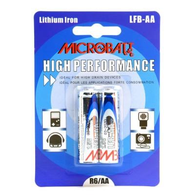 Pile lithium blister LFB-AA L91 1.5V 2800mAh