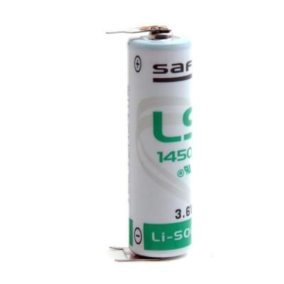 Pile lithium industrie LS14500 3.6V 2.6Ah CI2-