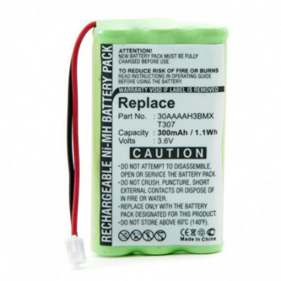 Batterie téléphone fixe 3.6V 300m Ah Conn