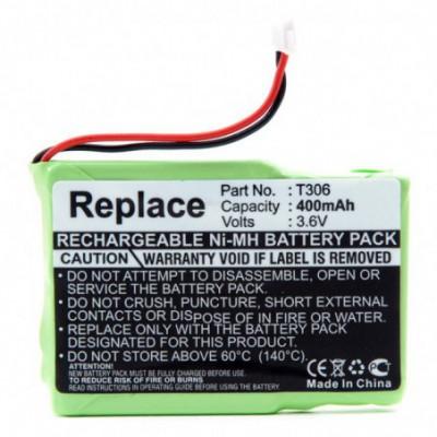 Batterie téléphone fixe 3.6V 400mAh Conn