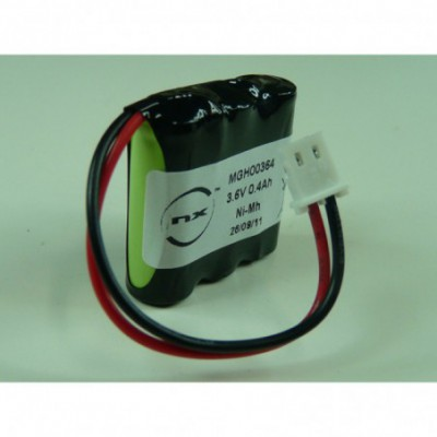 Batterie Nimh 3x 2-3AAA 3S1P ST1 3.6V 300mAh FC