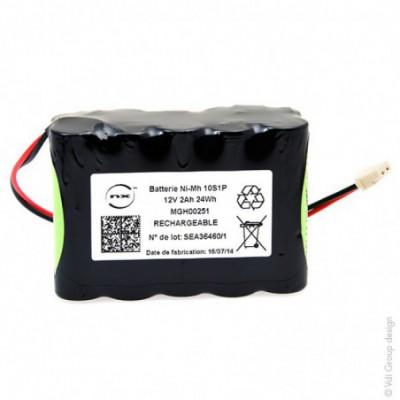 Batterie Nimh 10x AA 10S1P ST2 12V 2Ah MOLEX