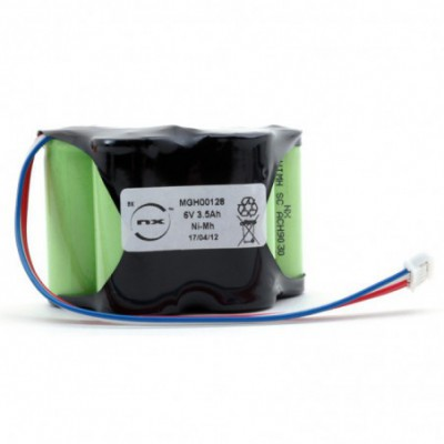 Batterie médicale POMPE FRESNIUS VIAL 6V 3.8Ah JST