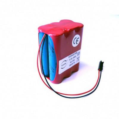 Batterie médicale 6x 4-3A VH 6S1P ST2 7.2V 3.8Ah HE13