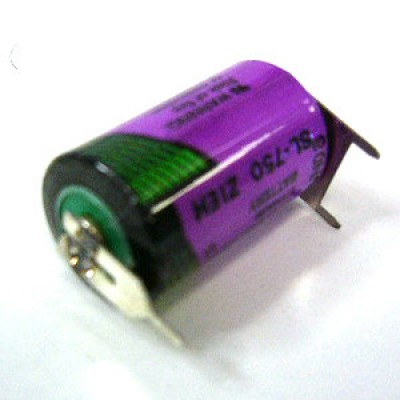 Pile lithium industrie  1/2 AA SL750 3.6V 950mAh PT
