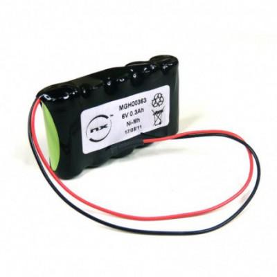 Batterie Nimh 5x 2-3AAA 5S1P ST1 6V 300mAh F