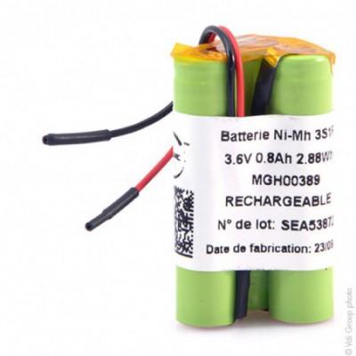 Batterie Nimh 3x AAA NX 3S1P ST3 3.6V 800mAh F90