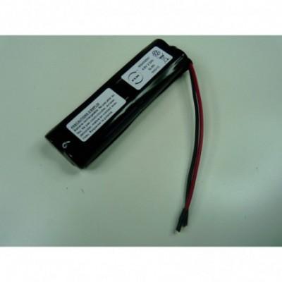 Batterie Nimh 4x AA 4S1P ST5 4.8V 2500mAh Fils