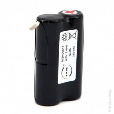 Batterie Nimh 4x 2-3A HD 4S1P ST5 4.8V 1400mAh T2