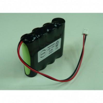 Batterie Nimh 4x AA 4S1P ST1 4.8V 1700mAh FC