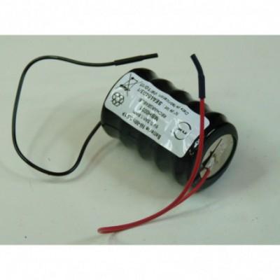 Batterie Nimh 5x CP300H 5S1P ST4 6V 300mAh Fils